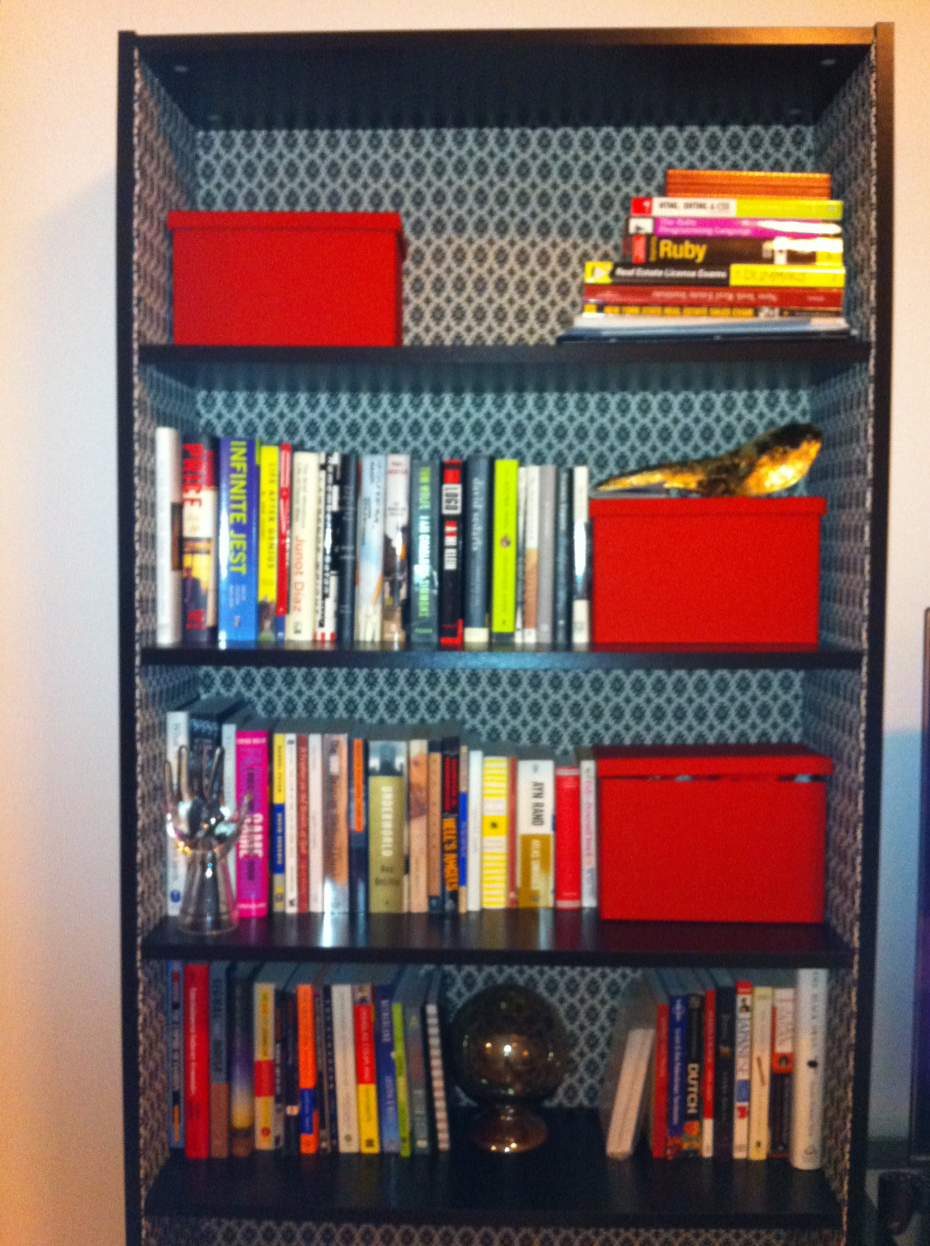 Do This Yourself Ikea Bookshelf Upholstery